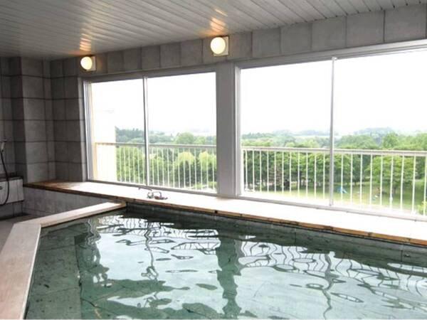 【ホテル棟大浴場】ホテル棟5階の展望大浴場