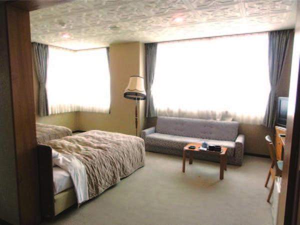[客室/例] 全室洗浄トイレ付。和室プランあり(同額)