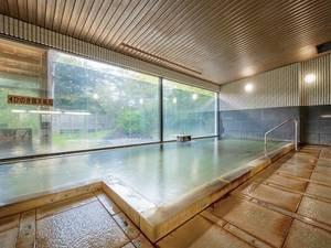 【大浴場】泉質はお肌の新陳代謝を促進してくれる美肌成分