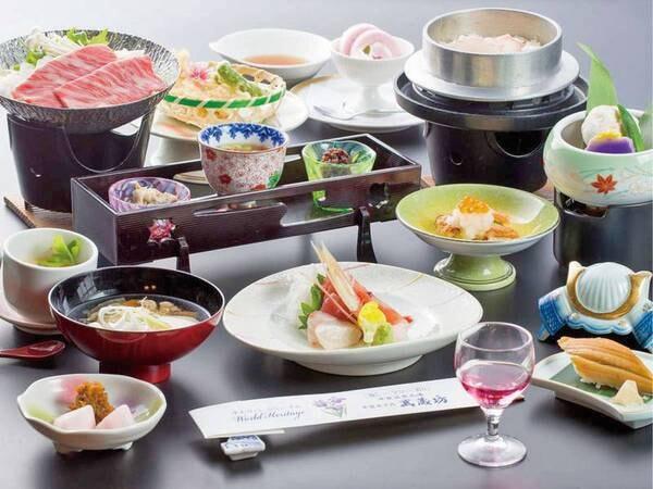 【銘牛前沢牛すき焼会席/例】ブランド牛の「前沢牛」をすき焼きで堪能