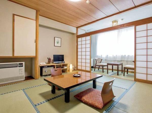 [客室/例] 全室バス・洗浄トイレ付、8畳以上の和室へご案内