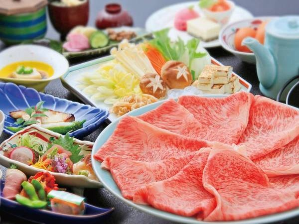 【前沢牛すき焼きorしゃぶしゃぶ/例】A5前沢牛を堪能!