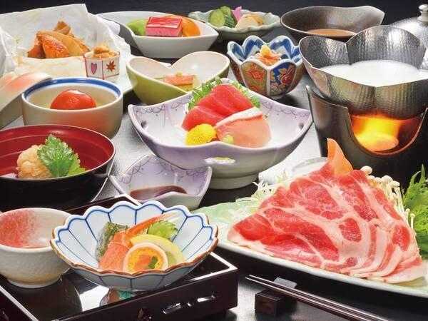 【梅】季節の鍋膳/例