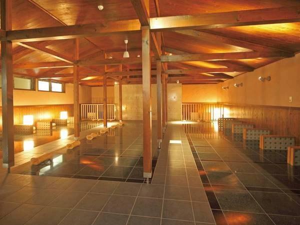 【 岩盤浴 】日本最大級のラドン岩盤浴施設!