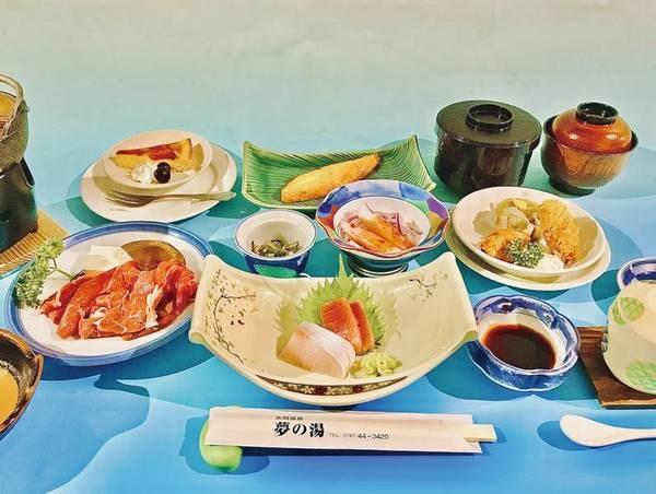 【郷土和食夢の湯膳例】岩手の旬を味わえる全10品の和食膳
