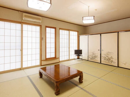 【和室/例】お部屋の広さは6~16畳まで多彩で、人数により宿お任せでご案内