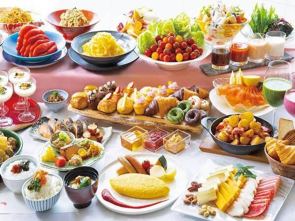 【朝食/一例】高原の自然に育まれた恵みを ふんだんに楽しめる朝食