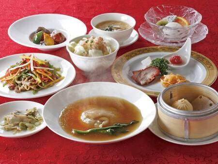 【選べる夕食】中華一例