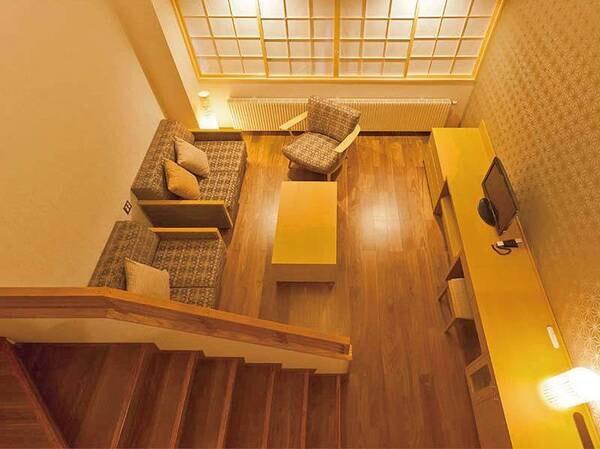 【客室一例】ジャパニーズメゾネットルーム