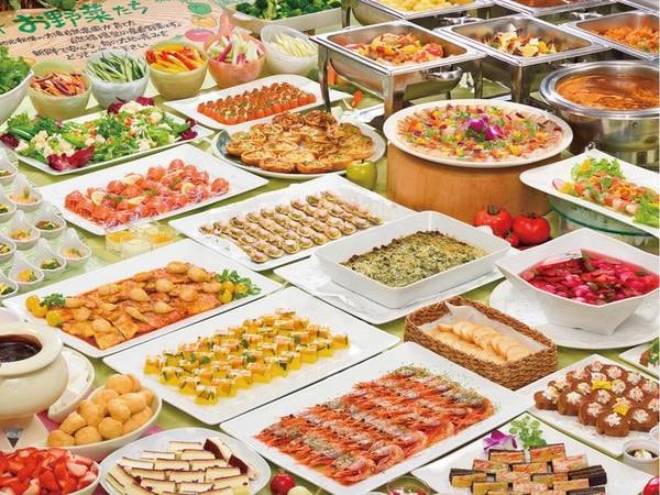 【バイキング/例】約40種の美食バイキング!