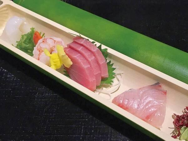 【出来立て!みちのくバイキング/例】お造りやお寿司を堪能