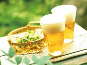 【60分飲み放題写真一例】 温泉と美味しい夕食にはお酒が合う!
