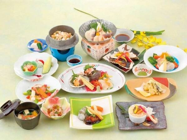 【味絵巻(雲丹づくし・貝づくし・鮪づくし)/例】※海鮮3種のお料理からお好きなものをお選び頂けるプラン
