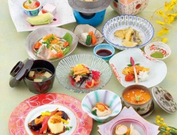 【味絵巻(雲丹づくし/例)】※海鮮3種のお料理からお好きなものをお選び頂けるプラン