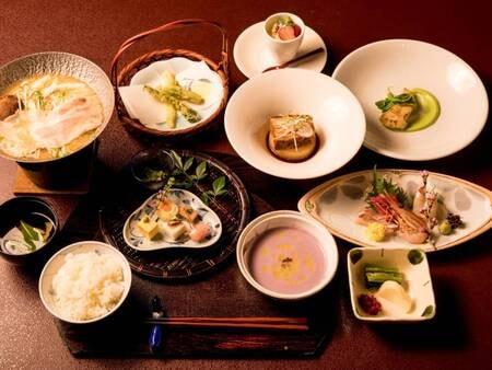 和風創作料理※写真一例 フレンチ出身のシェフが腕によりをかけてつくる全10品