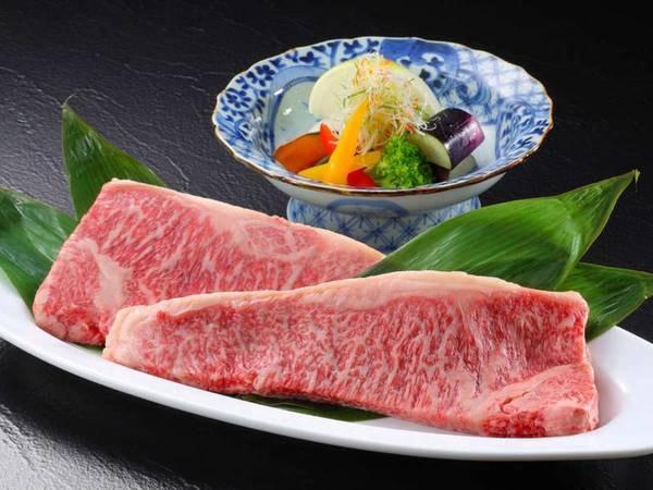 仙台牛ステーキ付会席/一例