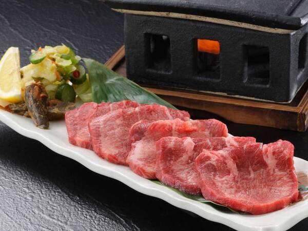 牛たん焼付会席/一例
