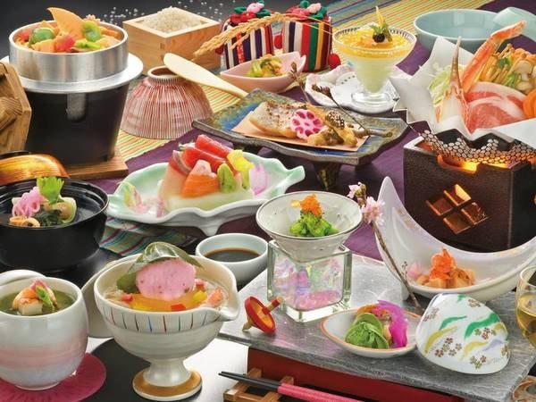 【胡蝶蘭プラン/例】お気軽にお泊り頂けるプランをご用意!料理長こだわりの食材を使った会席♪