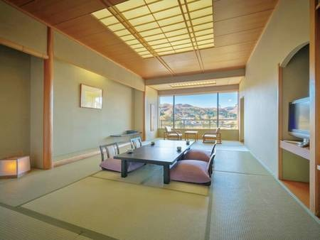 【12畳和室/例】広々とお過ごしいただける12畳の和室が人気!