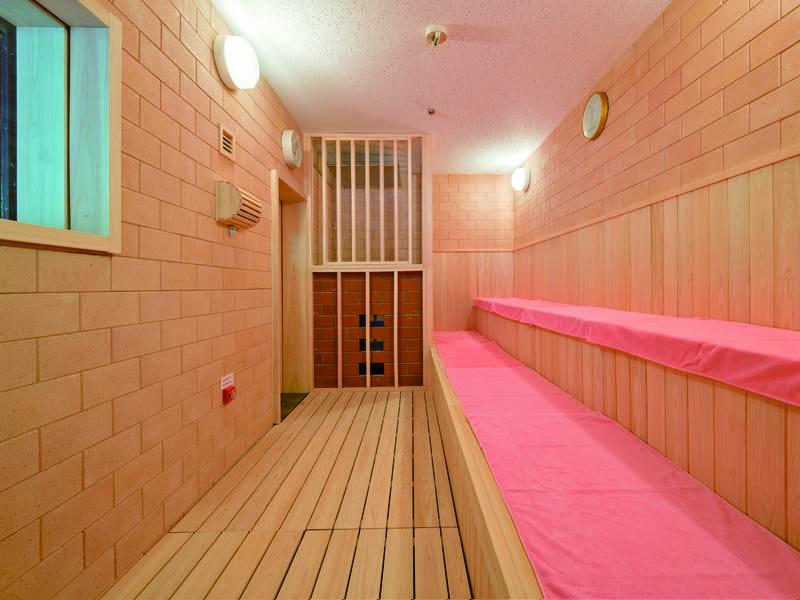 【サウナ】22時まで利用できるサウナが大浴場に完備