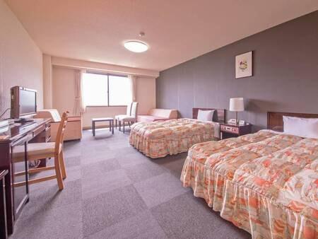 【スタンダード洋室/例】快適に過ごせる洋室は36平米の広さでのんびり寛げる