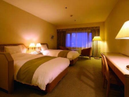 フランスベッドで快適に寛げる広さ25平米以上の洋室(バス・洗浄機能トイレ付)/例