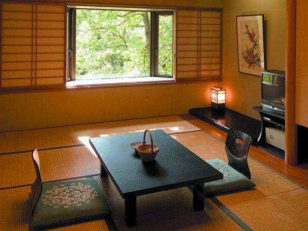 名取川の清流を望む和室は7.5畳の広さ(一例)