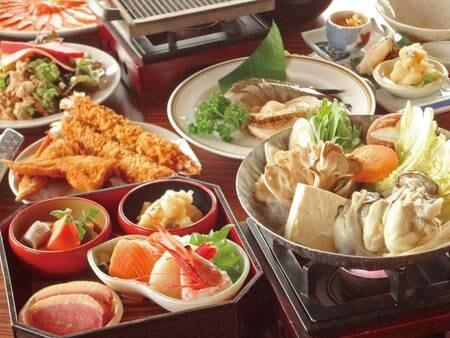 【ミニ和懐石/例】お造り・海鮮鍋・牛タン焼きなどのミニ和懐石