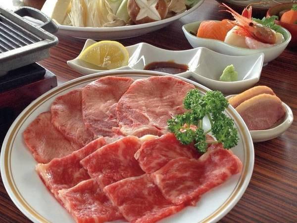 【仙台牛・牛タン焼き/例】陶板焼きで焼きたてを堪能!