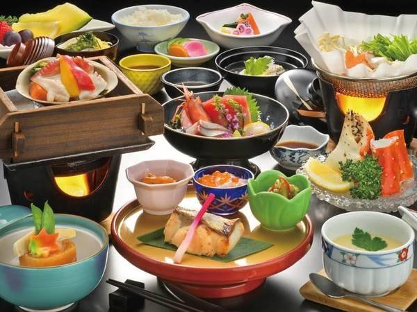 【直送!海鮮会席/例】塩釜港直送の新鮮魚介類をふんだんに使用したこだわりの料理