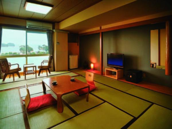 [客室/例] 紺碧の松島湾に浮かぶ島々望む、松島側の和室をお約束