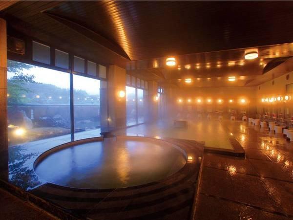 【大浴場】広々とした大浴場で美肌の湯を満喫!