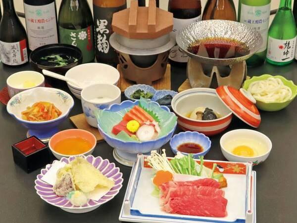 【さんさ会席/例】季節ごとに旬の食事を楽しめる