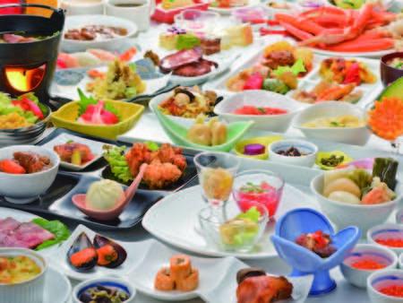 【和洋中バイキング/例】約50種もの種類豊富なメニューがすべて食べ放題!