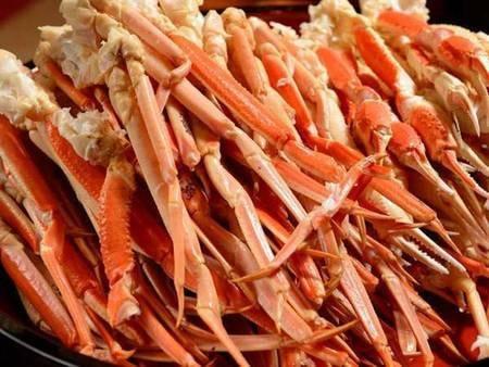 【和洋中バイキング/例】大人気の蟹も食べ放題!