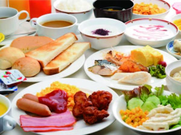 【朝食/例】好評の和洋ビュッフェ