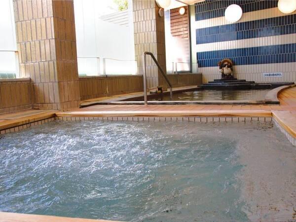 【大浴場】ジェットバスや露天風呂も併設