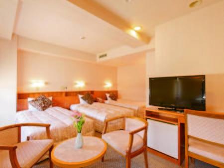 【トリプル/例】広さ24平米。ご家族やグループでのご宿泊にお勧め!
