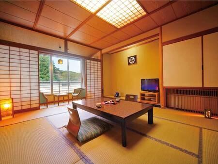 [和室/例] 朝・夕ともにお部屋食、8畳以上の客室へご案内(5名様以上個室の場合有)