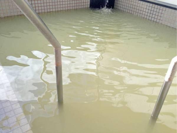 【温泉】源泉かけ流しの硫黄泉