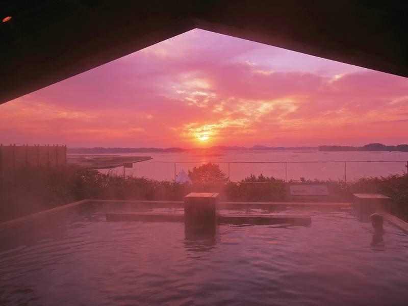 【八百八島】沈んでゆく夕日はまた格別。