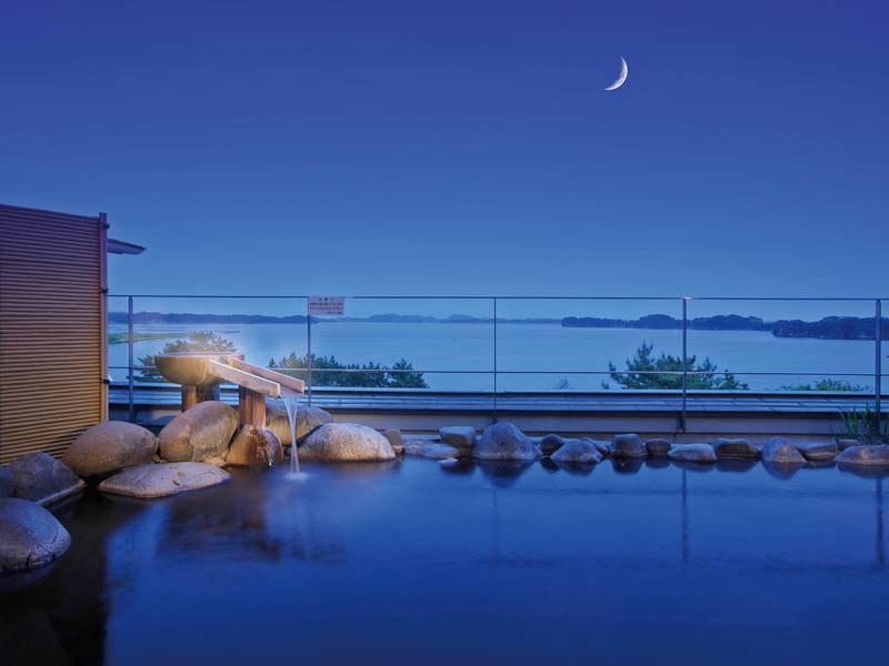 【五大観】夕陽と松島のコラボは絶景