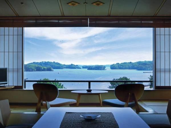 【眺望和室/例】松島を望む広々和室