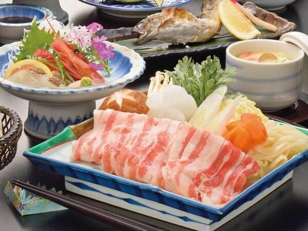 【国産牛&三元豚!選べるすき焼orしゃぶ/例】※三元豚のイメージ