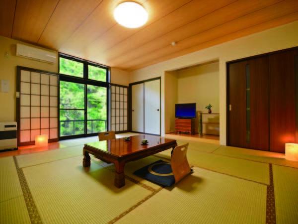 【新館客室/例】築年数の浅い新館の14畳和室(洗浄機能トイレ付)