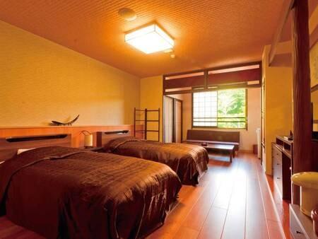 【ツイン客室/例】日差し差し込む明るい雰囲気