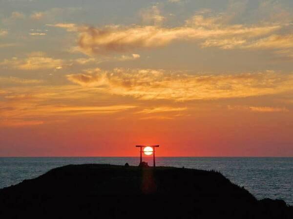 【入道埼】夕陽が映える絶景スポット