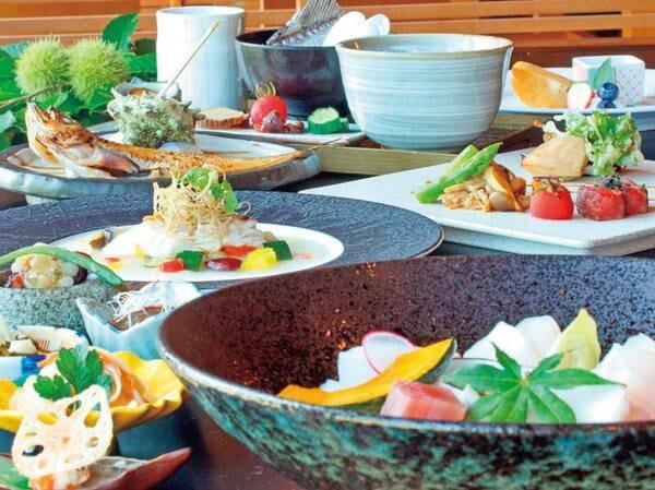 【夕食/例】季節を愉しむ和風コース料理
