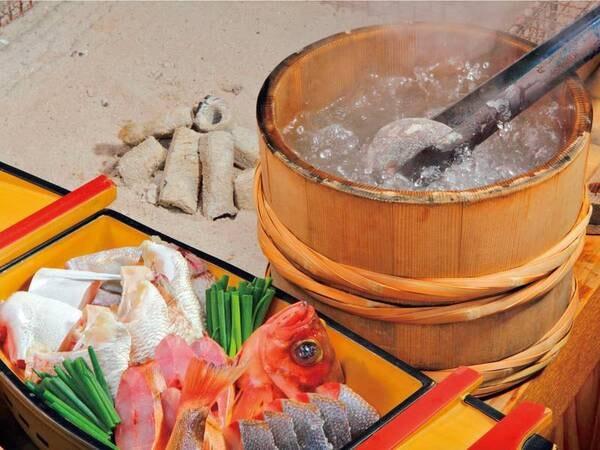 【夕食/例】石焼料理
