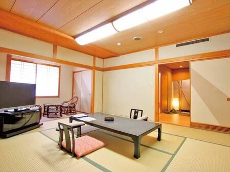 【客室/例】(禁煙)本館最上階7階広め和室6+10畳(A)